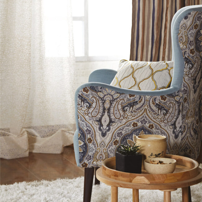 classical upholstery fabrics